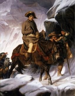 Franska krigsgud Napoleon Bonaparte