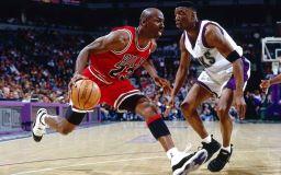 Basketstjärna Michael Jordan bild