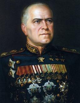 Sovjet Marshal Georgi Konstantinovich Zhukov (Bild 3)