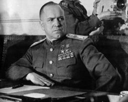 Sovjet Marshal Georgi Konstantinovich Zhukov (Bild 1)