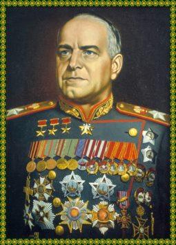 Sovjet Marshal Georgi Konstantinovich Zhukov (Bild 9)
