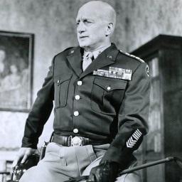 USA: s militära befälhavare George Smith Patton bilder