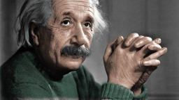 Fysiker Albert Einstein (Bild 1)